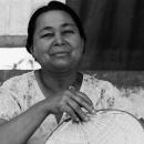 Woman And Fan @ Myanmar