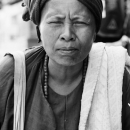 Squinching Woman @ Myanmar