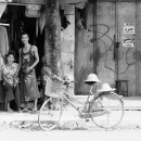 Man, Woman And Bicycle @ Myanmar