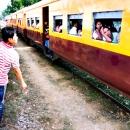 列車と列車