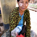 Empty Bottle In Her Arms @ Myanmar