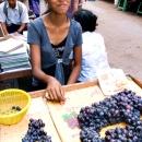 Grape And Bashful Smile