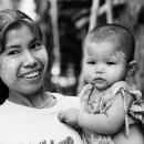 Smiling Mother @ Myanmar