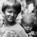 Little Brother On The Shoulder @ Myanmar
