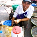 Hawker Selling Cold Drinks