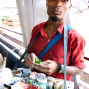 Tobacconist On The Ferry @ Myanmar