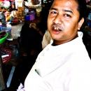Man In A General Store @ Myanmar