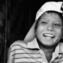 Boy Wearing A Cap @ Myanmar