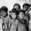 Gathering Children In Thanlyin @ Myanmar