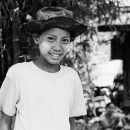 Boy Wearing A Hat @ Myanmar