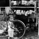 Boy Turning Around @ Myanmar