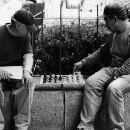 Playing Chess In A Park