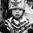Boy Wearing A Traditional Costume