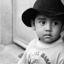Boy Wearing A Hat @ Mexico