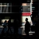 Silhouettes In Nihonbashi