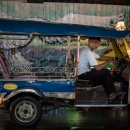 Tuk-tuk Without Passegers