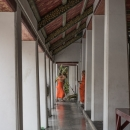 Monks At The End Of The Corridor