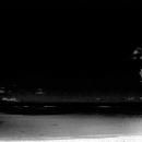 ニシ浜の人影
