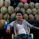 Durian In The Night Market