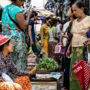 Women In Street Market