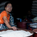 Woman Selling Rice