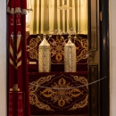 Torah Ark In Musmeah Yeshua Synagogue