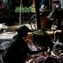 ダニンゴン市場の茄子