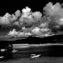 川平湾の遊覧船たち