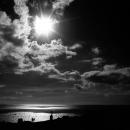 御神崎の太陽