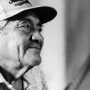 野球帽の老人
