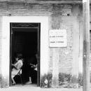 Religious Service Inside Door