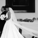 花嫁と父親