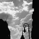 Silhouette Of Torre Latinamericano