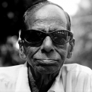 Old Man Wearing Big Sunglasses @ India