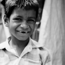 Boy Without Front Teeth @ India