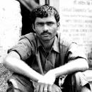 Man Sitting @ India