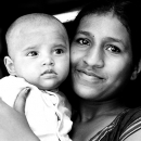 Mother And Her Baby @ India