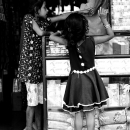 Two Girls In A Shop @ India