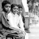 Three Boys Wearing Sherwani @ India
