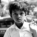 Dazed Expression Of A Boy @ India