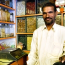 Man In A Spice Shop @ India