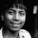 Boy Grinned @ India