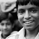 Boy Showed His Teeth @ India