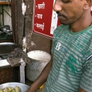 Man Making Samosa