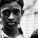 Face Of A Boy @ India
