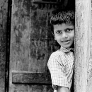 Surprising Boy At The Door @ India