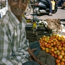 Tomato Seller With Tilaka