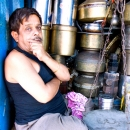 Man In A Hardware Shop @ India