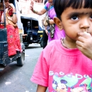 Boy Wearing A Pink Shirt @ India