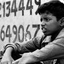 Boy And Numeric Character @ India
